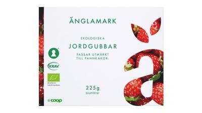 Coop återkallar Änglamark frysta jordgubbar