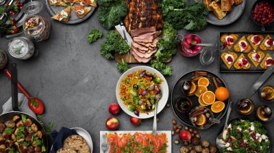 Varannan svensk kommer att handla julmat online