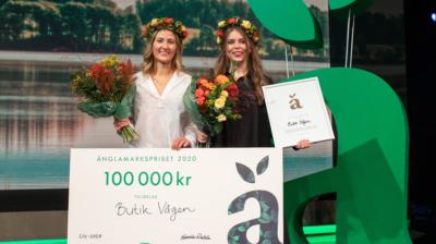 Butik Vågen vinner Änglamarkspriset 2020