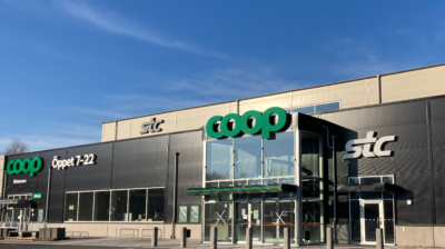 Coop öppnar ny butik i Borstahusen