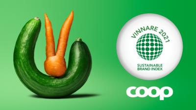 Coop är Sveriges mest hållbara varumärke 2021