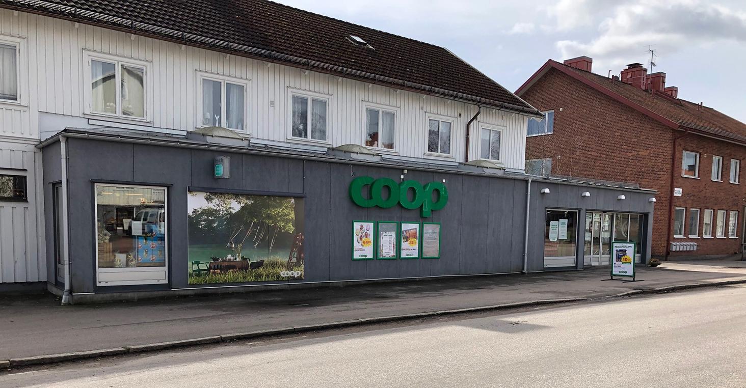 Premiär för Coops första delvis obemannade butik