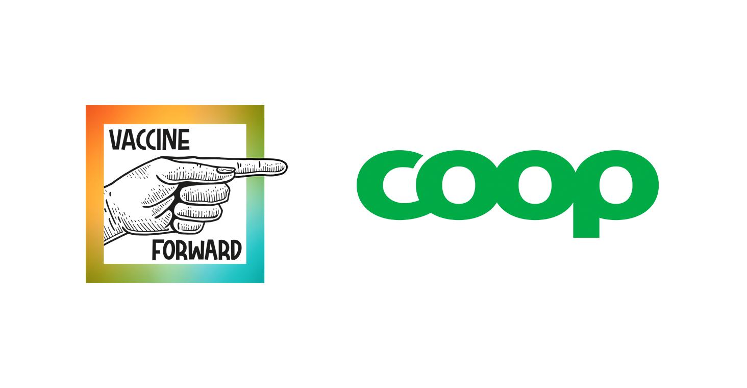 Nu kan Coops medlemmar skänka Covid-19 vaccin med sina poäng