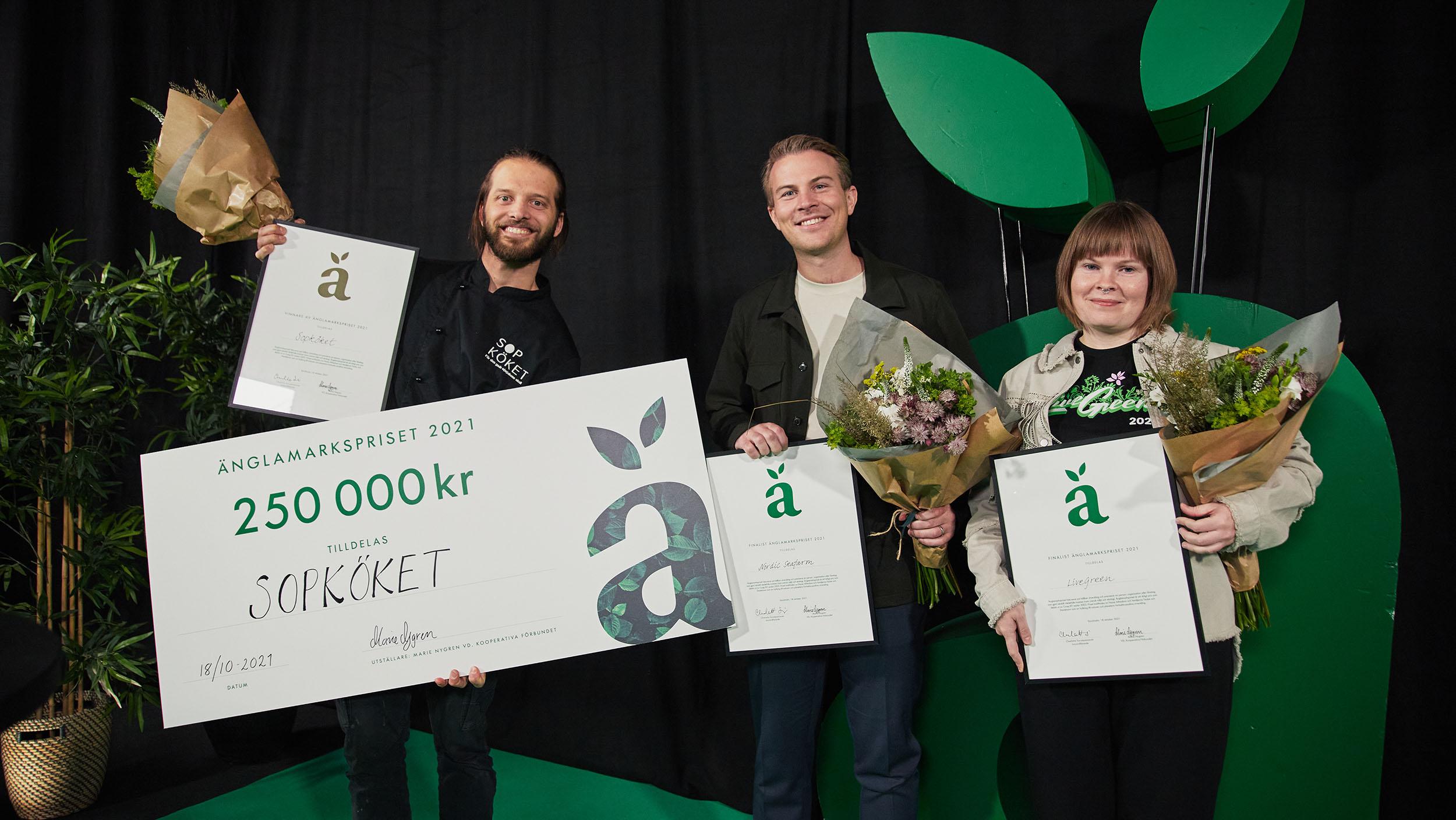 Sopköket vinner Änglamarkspriset 2021